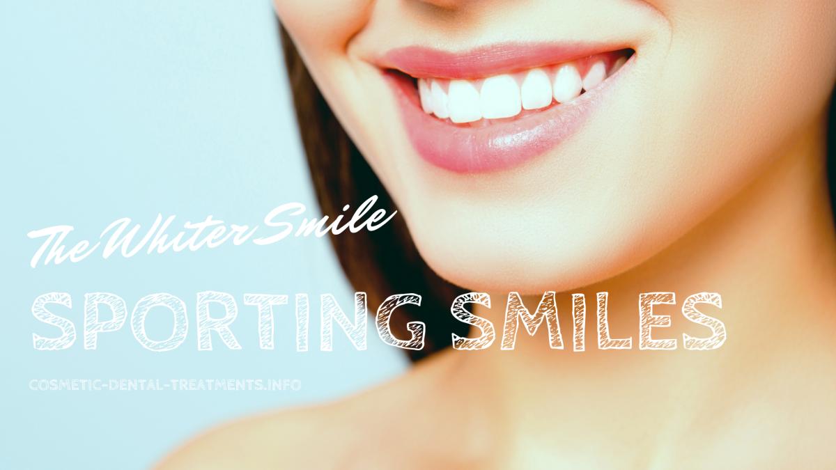 White teeth treatments