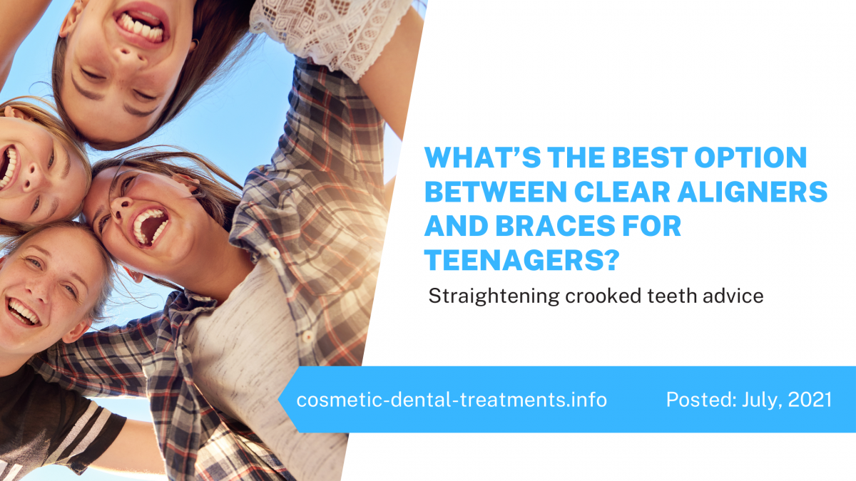 What's the Best Option Between Clear Aligners and Braces for Teenagers?